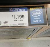 Huge Saving At Wal-Mart