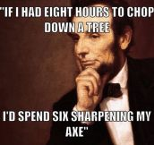 Abe's Secret To Success