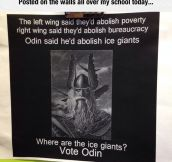 Vote For Odin