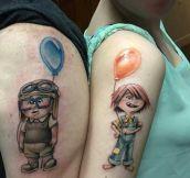Best Couple Tattoo I've Seen