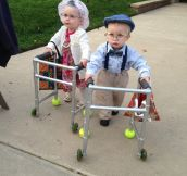 The Cutest Trick-Or-Treaters