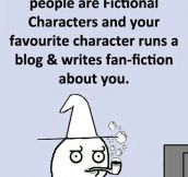 Fictional Characters May Be Real