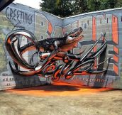 This Graffiti Is Out Of This World