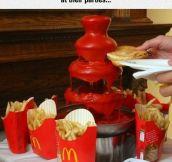 Classy McDonald's Meal