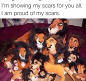 Proud Of My Scars