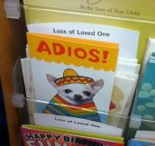 Because There's No Better Way To Say Goodbye Than Using This Card