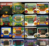 The Handheld Videogames Of The Past