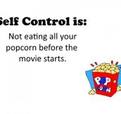 Self Control Meaning
