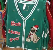 This Takes Ugly Christmas Sweater To A Whole New Level