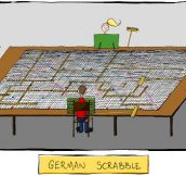 German Scrabble May Take Some Time