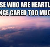Heartless People Have Their Stories
