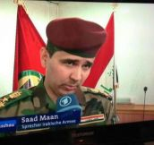 Poor Iraqi Soldier