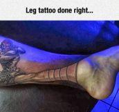 Street Fighter's Tattoo