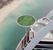 Floating Tennis Court