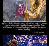 Some Things You Didn't Know About Tangled
