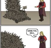 IKEA's Iron Throne