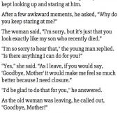 An Old Lady Recalls A Young Man As His Son. What Happens Next Is Unbelievable.