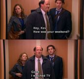 Kevin Was Easy To Relate To
