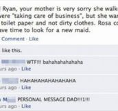 21 Kids Getting Owned By Their Parents On Facebook