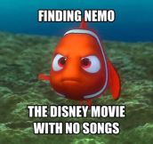 Just Keep Swimming, Nemo