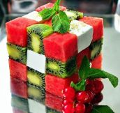 Fruit Salad Rubik's Cube
