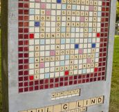 A Scrabble Fan's Gravestone