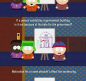 South Park Nails It