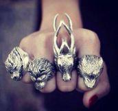 Hindu Gods' Rings