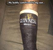 Leg Cast Customization