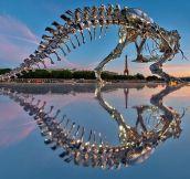 Full-Scale T-Rex In Paris