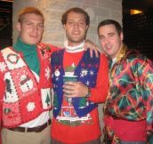 21 Hilariously TACKY Christmas Sweaters
