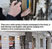 The Book Forest In Berlin