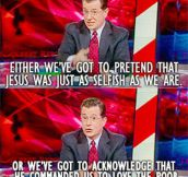 Colbert On Christianity