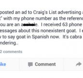 Free Baby Goat Prank