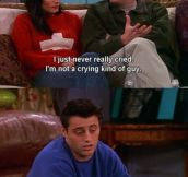 The Reason Chandler Can't Cry