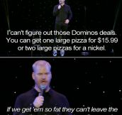 Domino's Effect by Jim Gaffigan