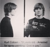 That Time When Kurt Cobain Got Arrested