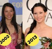 Lucy Liu Doesn't Age
