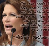 Michele Bachmann, Everyone