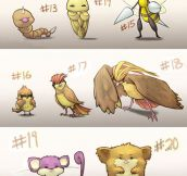 Pokémon Growing Up