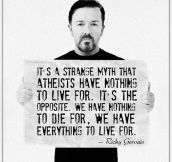 A Big True About Atheists