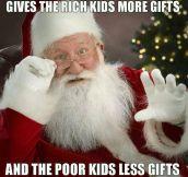 Scumbag Santa Claus
