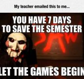 Save The Semester