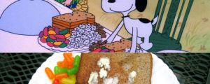 Snoopy's Thanksgiving Dinner, Nailed It