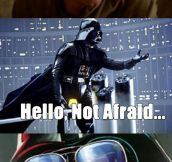 Darth Vader Is Always Be A Dad First