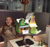 Gingerbread House From The Movie 'Up'
