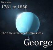 Uranus' Original Name