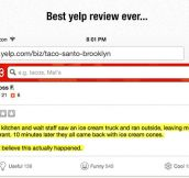 Hilarious Yelp Review