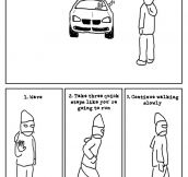 Proper Crossing Etiquette