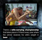 The Wife-Carrying Championship
